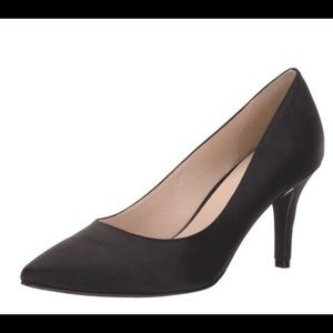 NWT Cole Haan Julianna Pumps Black Satin Size 9